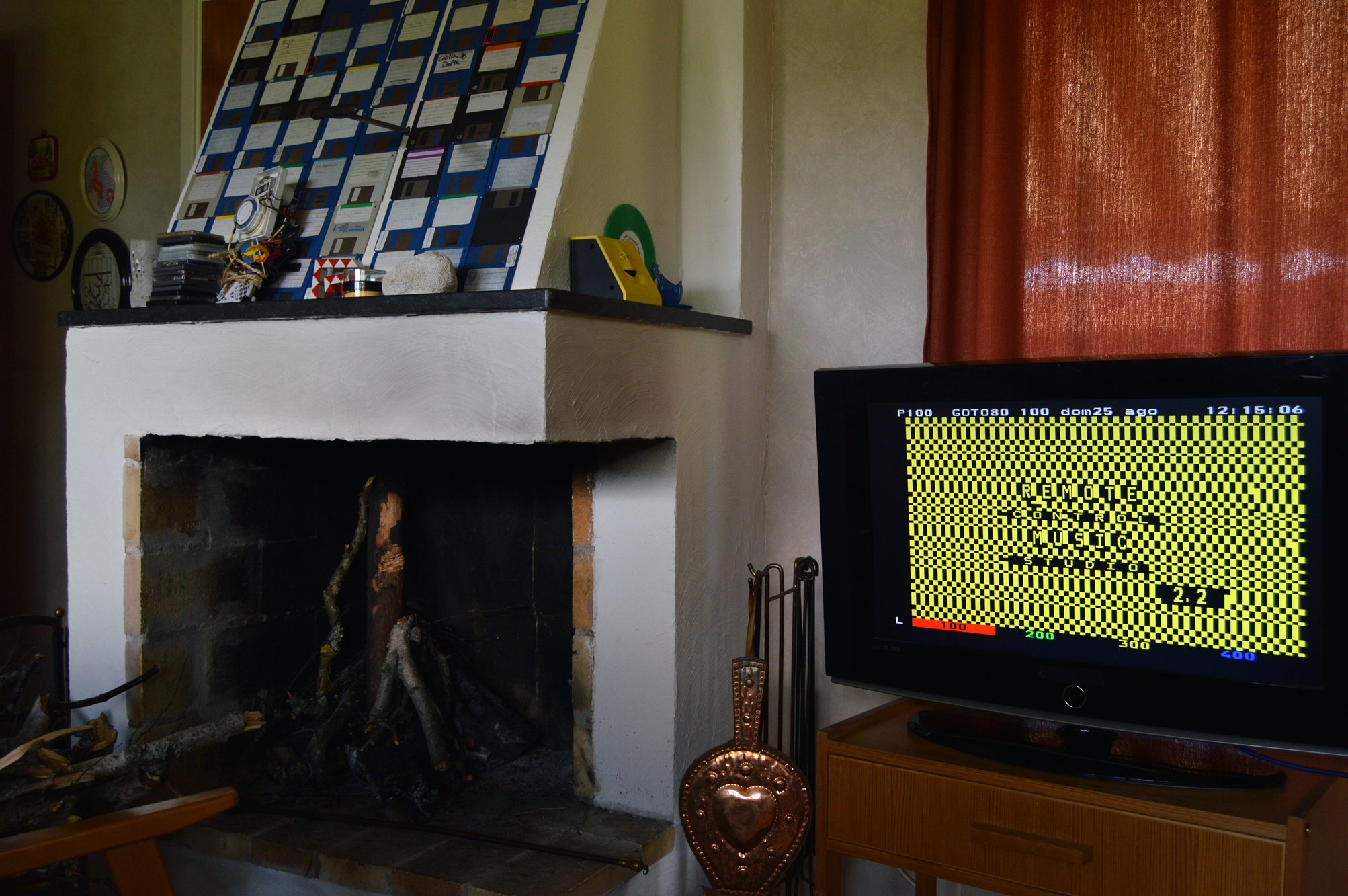 My Teletext Art on TV