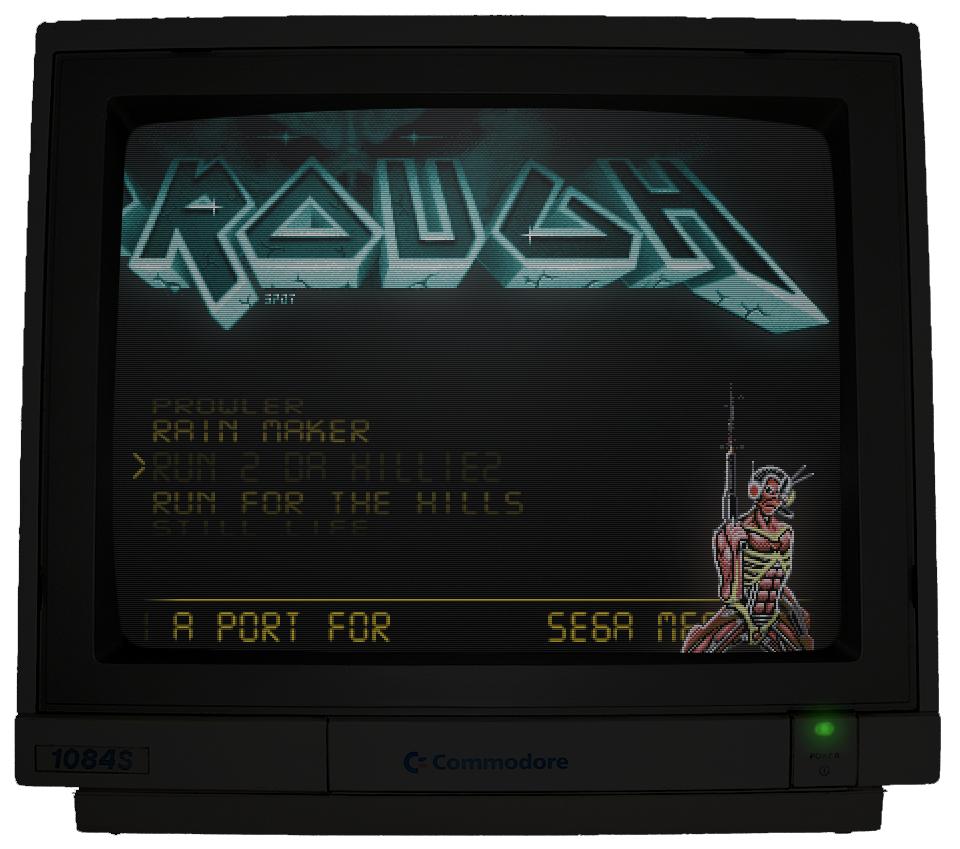 Iron Maiden Amiga Javascript Sega Megadrive