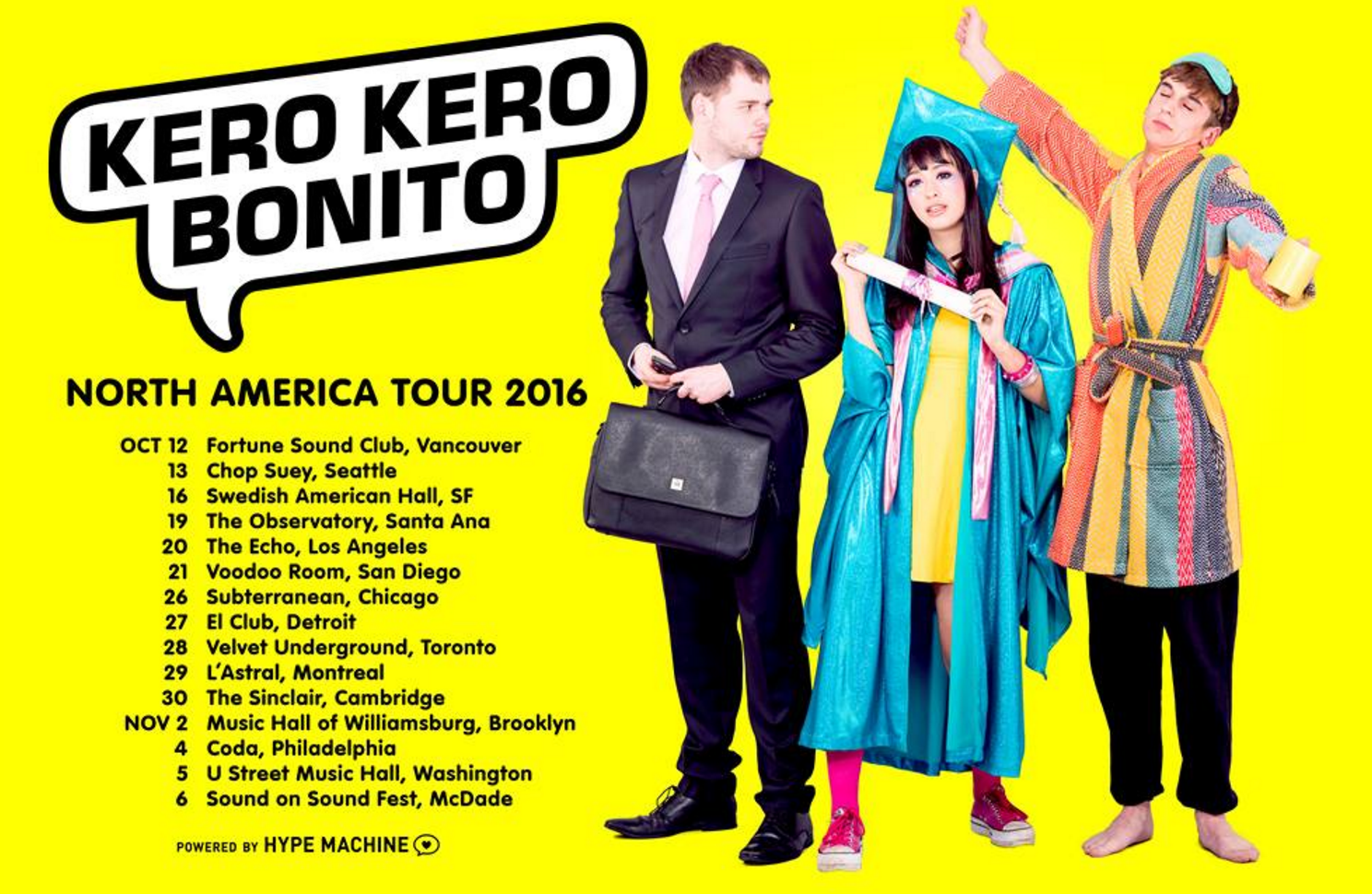 California with Kero Kero Bonito