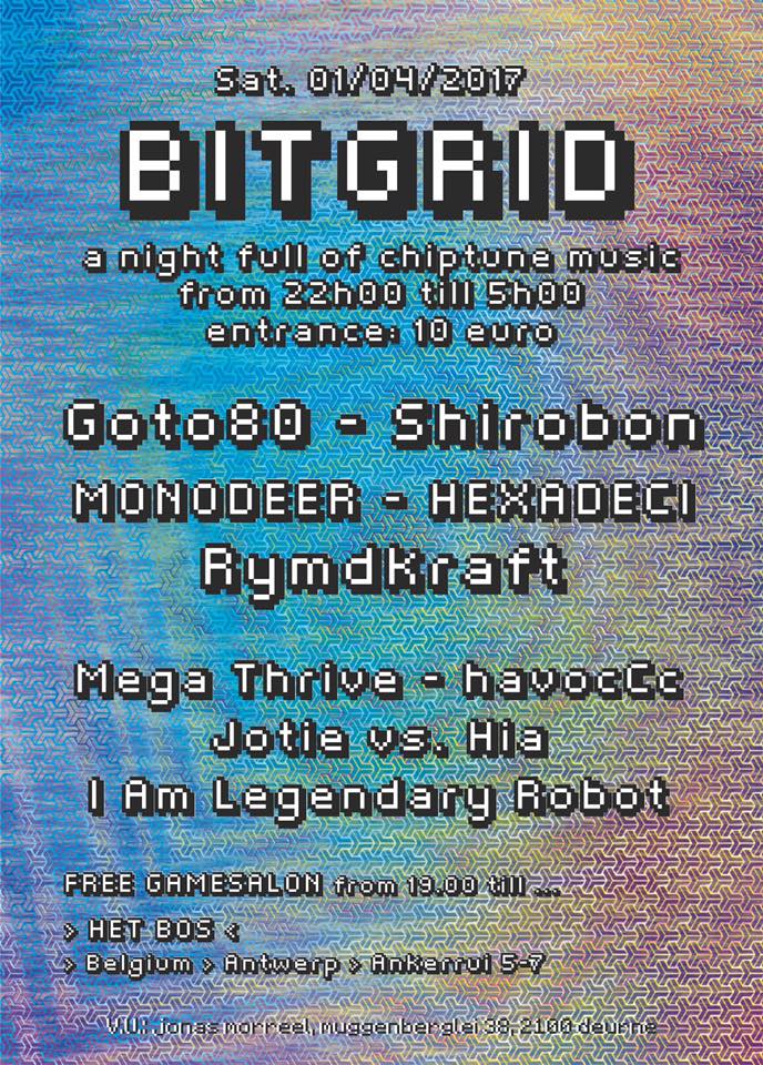 Bitgrid, Antwerp, April 1