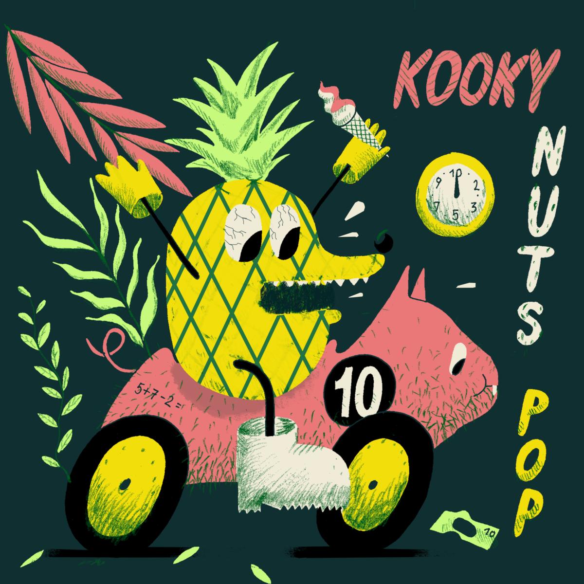 V/A: Kooky Nuts Pop (Darling Dada MP3)