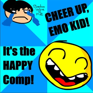 V/A: Cheer Up Emo Kid – The Happy Compilation (Calmdown Kidder MP3)