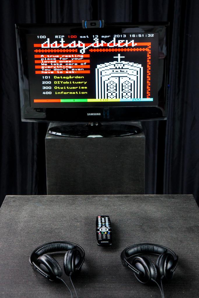 Datagården Teletext Installation