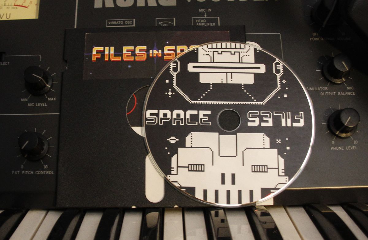Files in Space – Now on CD!