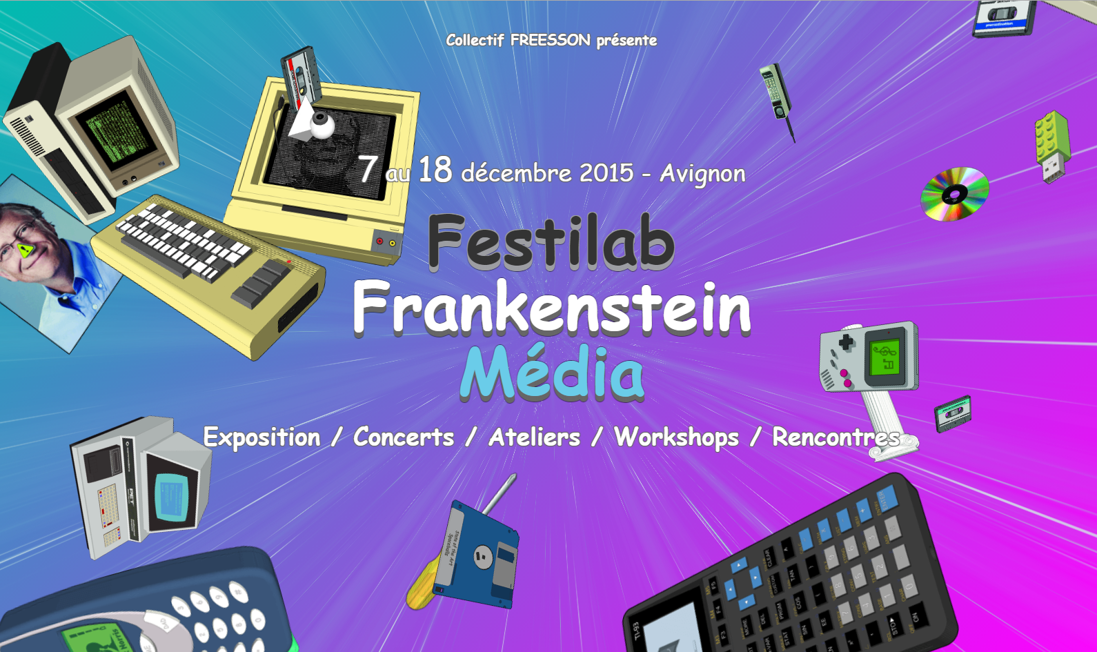 Live at Festilab in Avignon